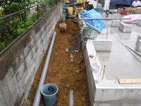 外部水道配管工事