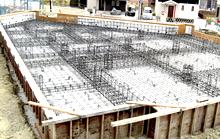 最強の基礎工法「地中梁方式べた基礎」の採用