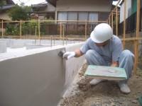カチオンミラクル施工から外部水道配管工事