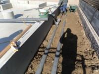 外部の給排水管工事
