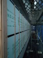 通気胴縁の施工