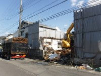 兵庫県川西市でお建てするU様邸解体工事