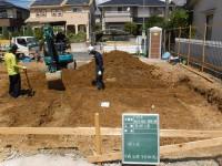 掘り方工事