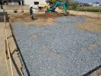 基礎掘削工事及び地業工事