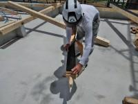 土台敷き込み工事