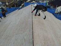 屋根断熱工事